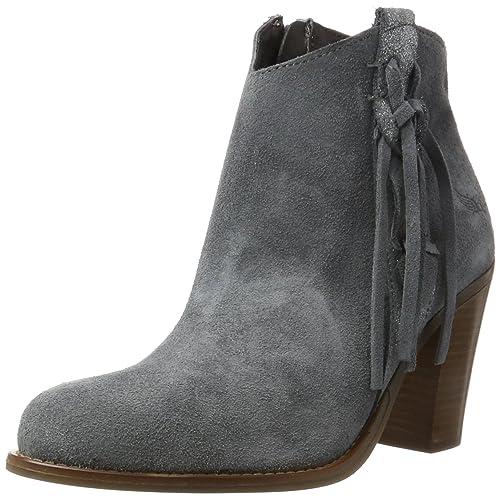 Kaporal - Botas de Otra Piel Mujer, Gris (Gris (Gris 318)), 38 EU: Amazon.es: Zapatos y complementos