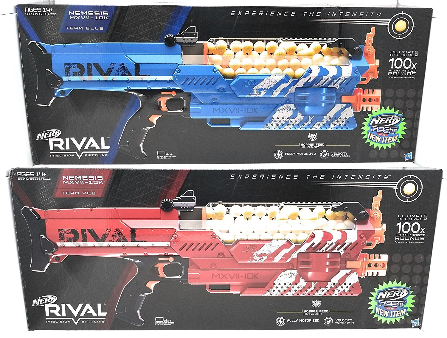 Nerf Nemesis Blue and Red Complete Nerf Gear Bundle [並行輸入品] B078WTMSFH