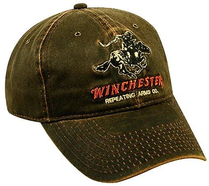 908fbbdc9bfa1 Amazon.com : Outdoor Cap Weathered Cotton Winchester Cap : Baseball Caps :  Sports & Outdoors
