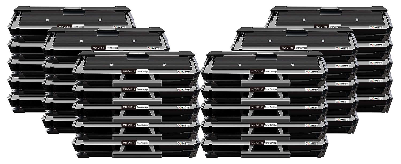 30 Tóner MLT-D111S 111S 111 Premium negro compatible con Samsung ...