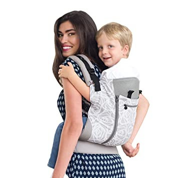 93dbbf65953 Amazon.com   LILLEbaby 3 in 1 CarryOn Toddler Carrier- Frosted Rose   Baby