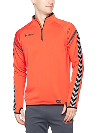 f761a9a7799 Hummel Men's's Auth. Charge Training Sweat Jacket: Amazon.co.uk: Sports &  Outdoors