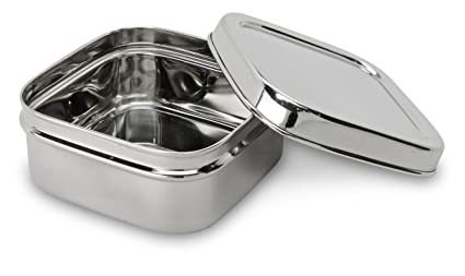 d1a7ce234082 Lifestyle Block Eco-Friendly Stainless Steel Snack Container - Small