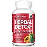 Health Plus Herbal Detox + 10 Day Cleanse, 40 Capsules