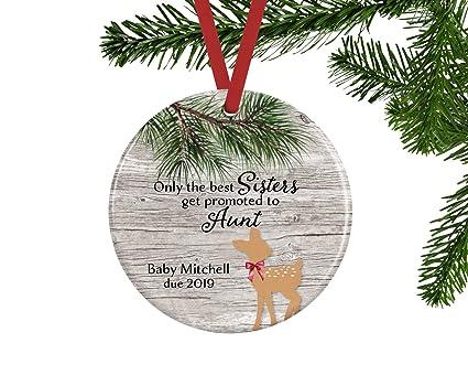 Regali Di Natale Per Zia.Personalizzato Natale Ornamento Albero Di Natale Decor