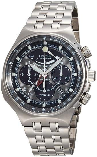 Amazon.com: Citizen Mens AV0021-52H Eco-Drive Titanium Calibre 2100 Watch: Citizen: Watches