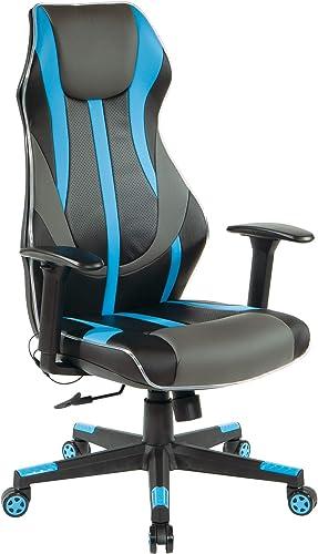 OSP Home Furnishings Gigabyte High-Back LED Lit Gaming Chair
