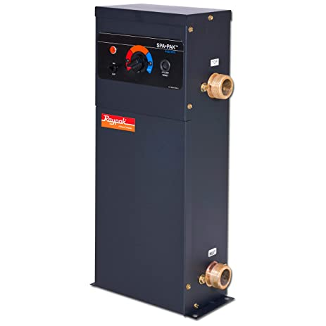 amazon com raypak electric spa heater 5 5 kilowatts garden Raypak Boiler Serial Number raypak boiler wiring diagram