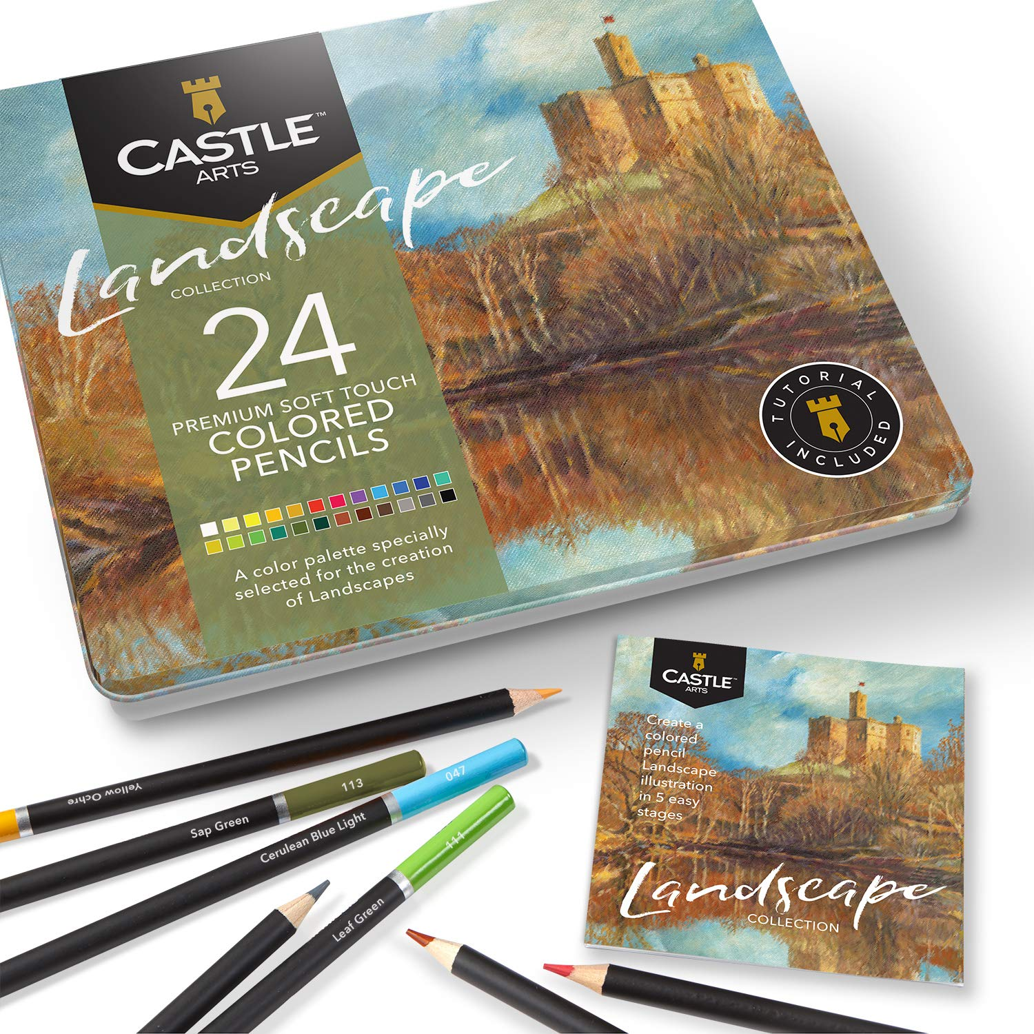Set de Arte Dibujo Castle Art Supplies [7ZPBCYB1]