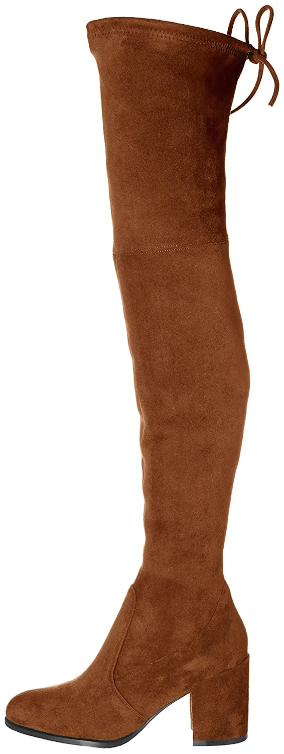 b76ad7e30b32 ... Kaitlyn Pan Block Heel Microsuede Slim fit Over Over Over The Knee  Boots B078HG1KN6 6.5US