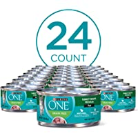 24-Pack Purina ONE Natural Adult Canned Wet Cat Food (3 oz. Cans)