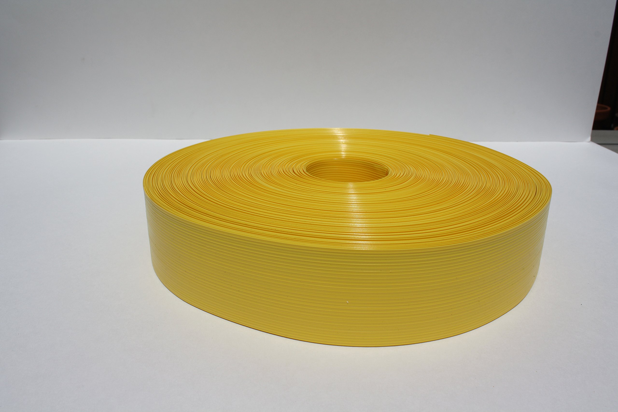 PATRICIAN PRODUCTS 250 ft. Yellow Fence Weave Roll in