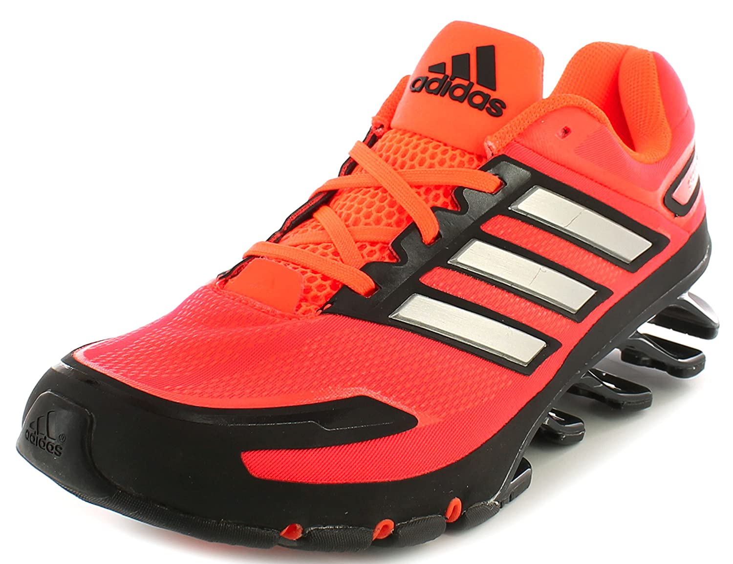 designer fashion 1efe3 c44b7 adidas New Mens Gents Red Performance Springblade Ignite Trainers. - Solar  Red Slvr Black - UK Size 8  Amazon.co.uk  Shoes   Bags