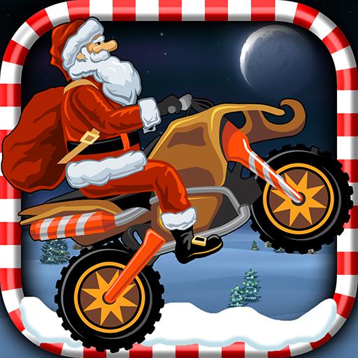 Christmas Motorcycle - Santa Rider