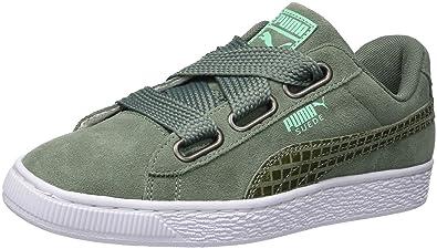 Puma Suede Heart Street 2 Wns, Zapatillas para Mujer, Gris Laurel Wreath 02,
