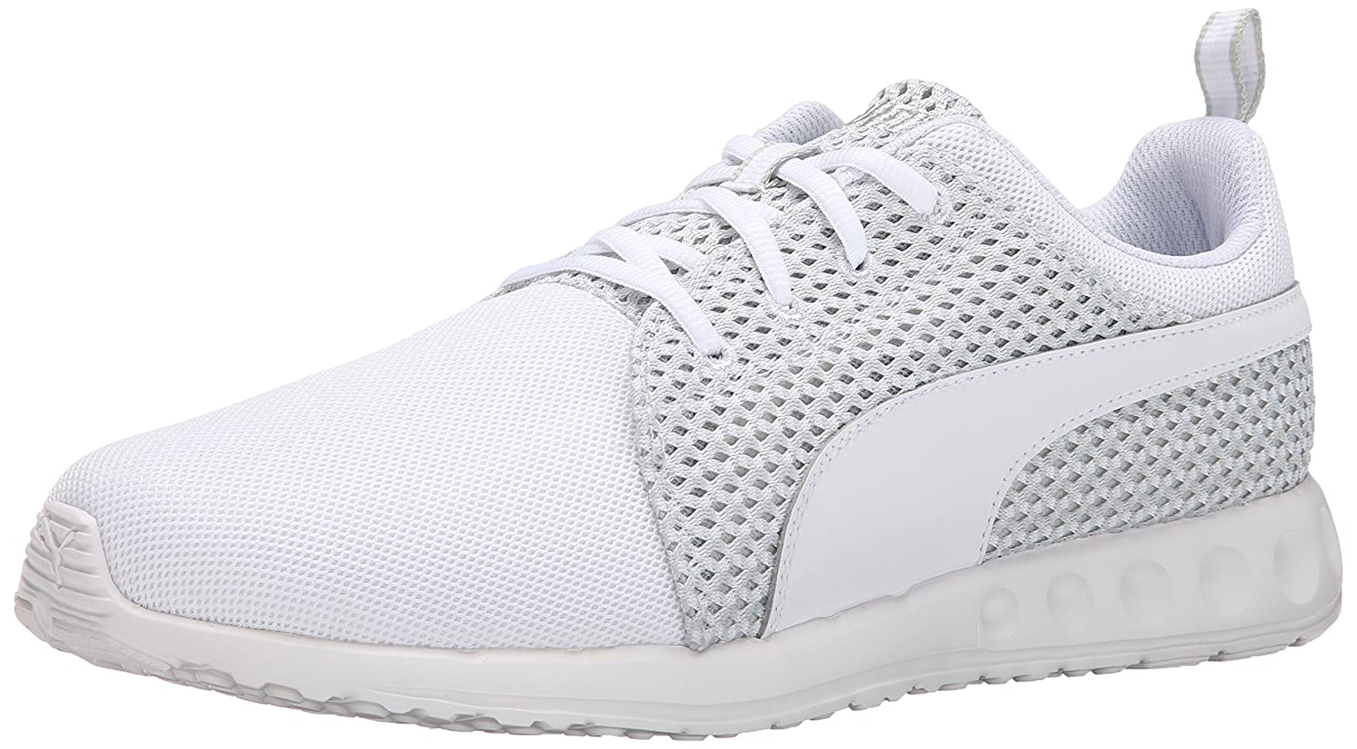 e2dd745a4d9344 Puma Womens Carson Runner Heather Running Shoes Bright Plasma-White Size  10  Amazon.in  Shoes   Handbags