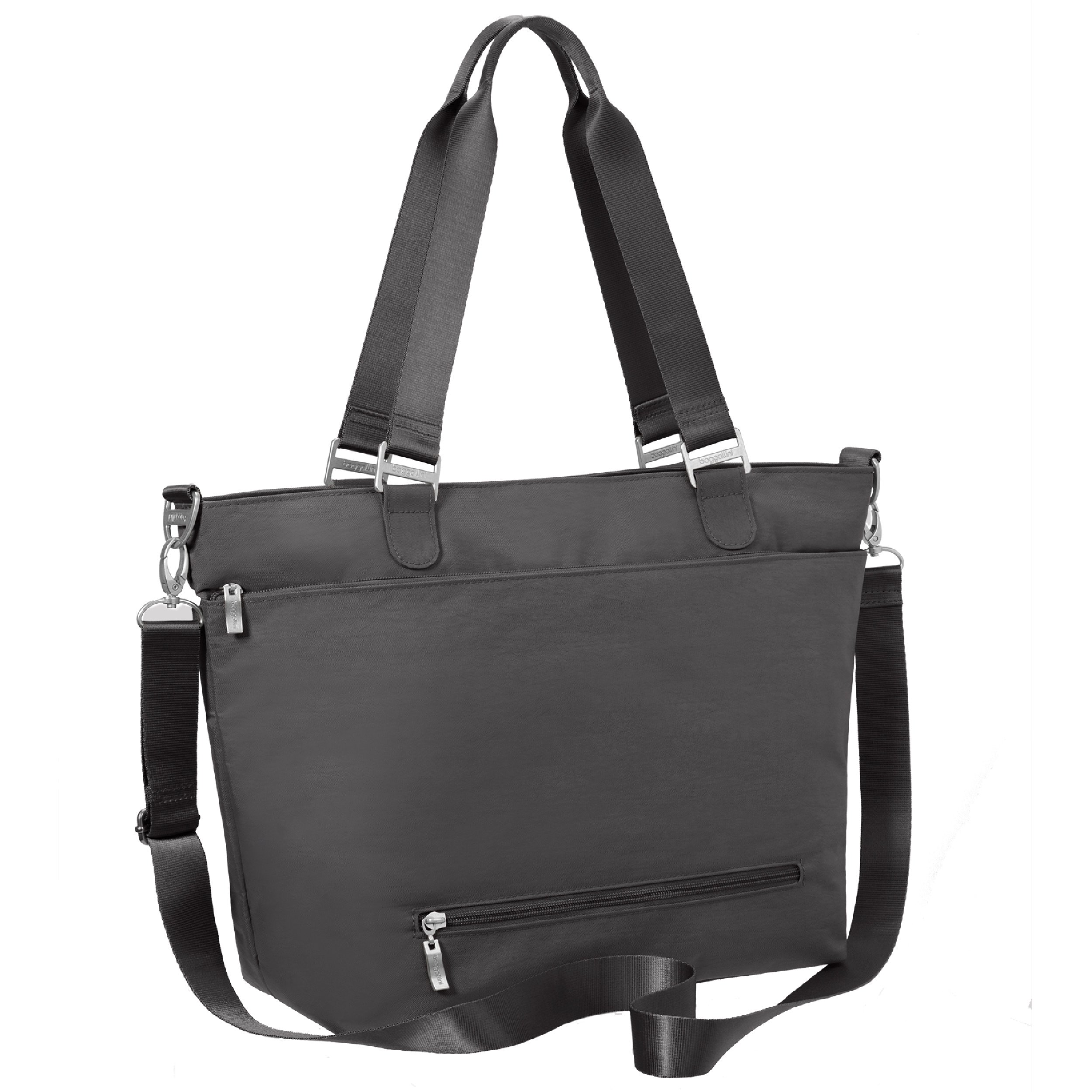 Baggallini Avenue Travel Tote, Charcoal, One Size by Baggallini (Image #7)