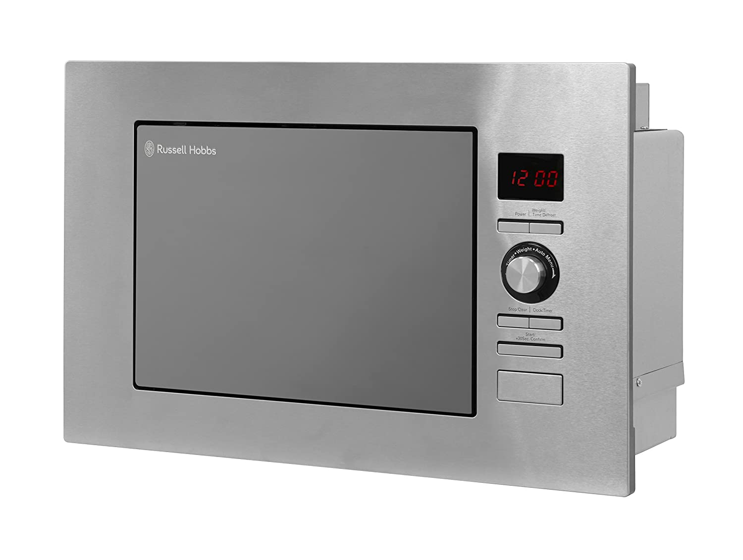 Russell Hobbs RHBM2003 20L Built In Digital 800w Solo Microwave Stainless Steel