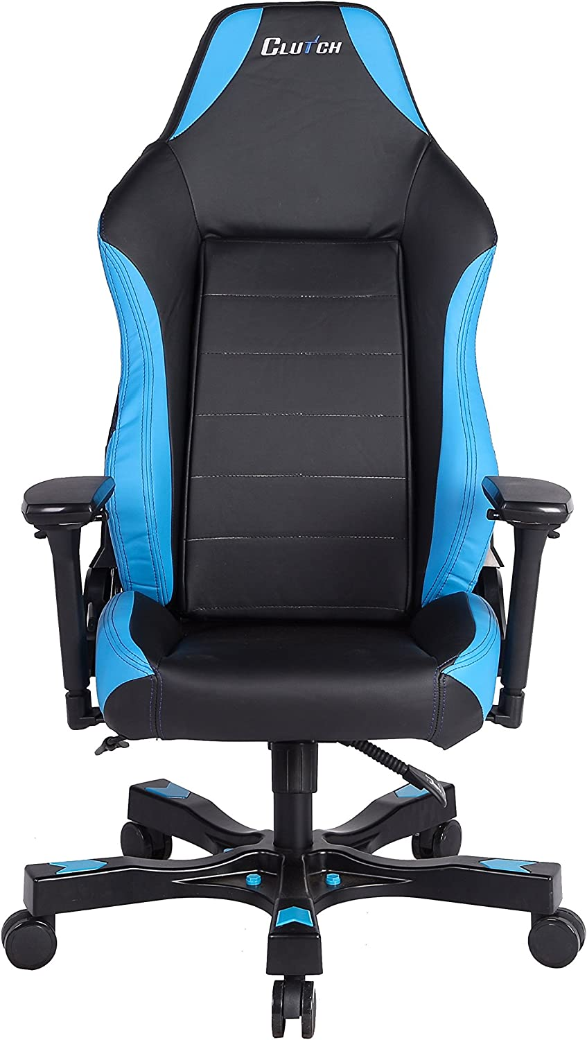 CLUTCH CHAIRZ Shift Series Alpha Mid-Sized Gaming Chair Black Blue