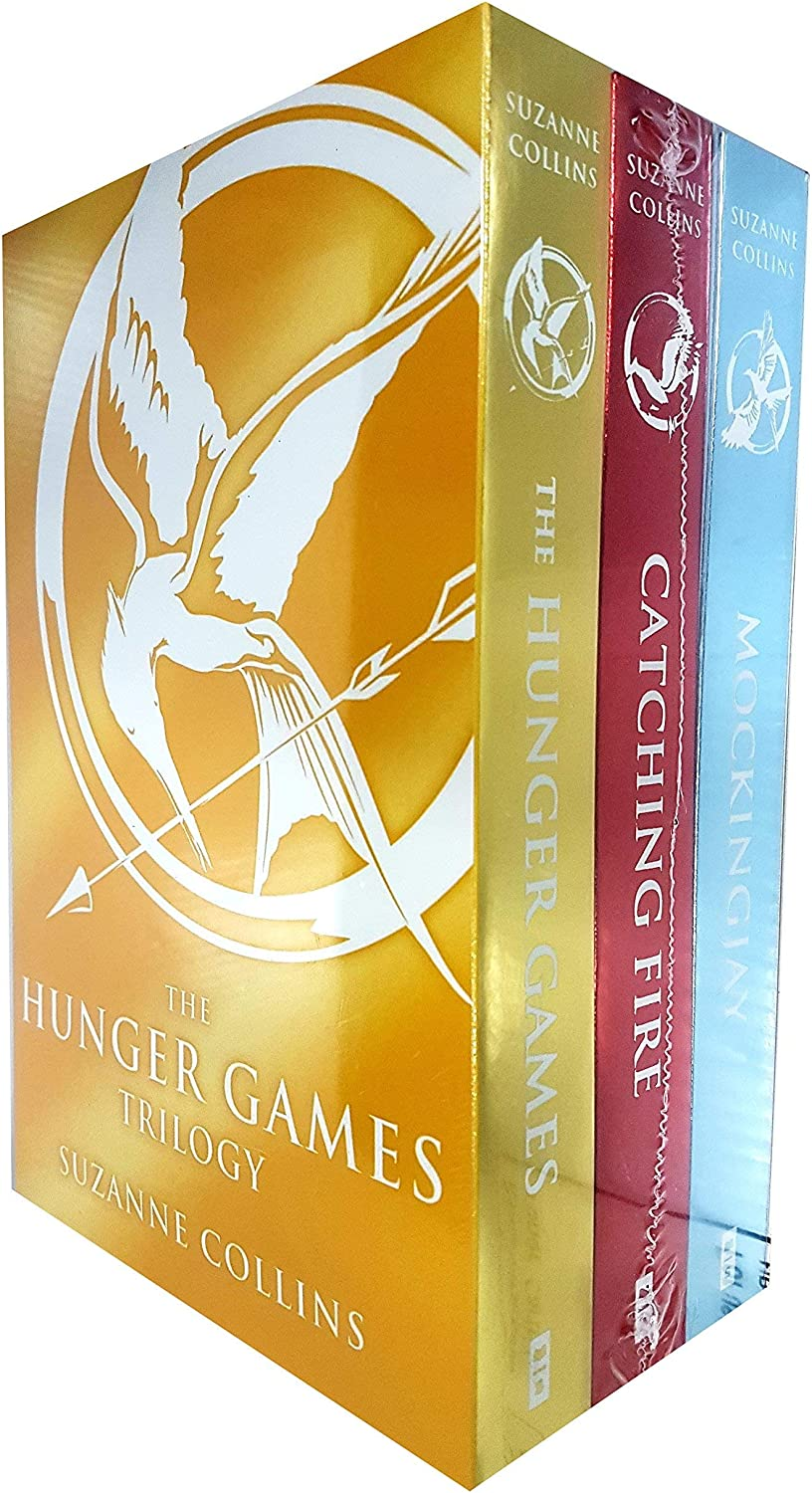 Hunger Games Trilogy Collection Classic 3 Books Set Pack By ...