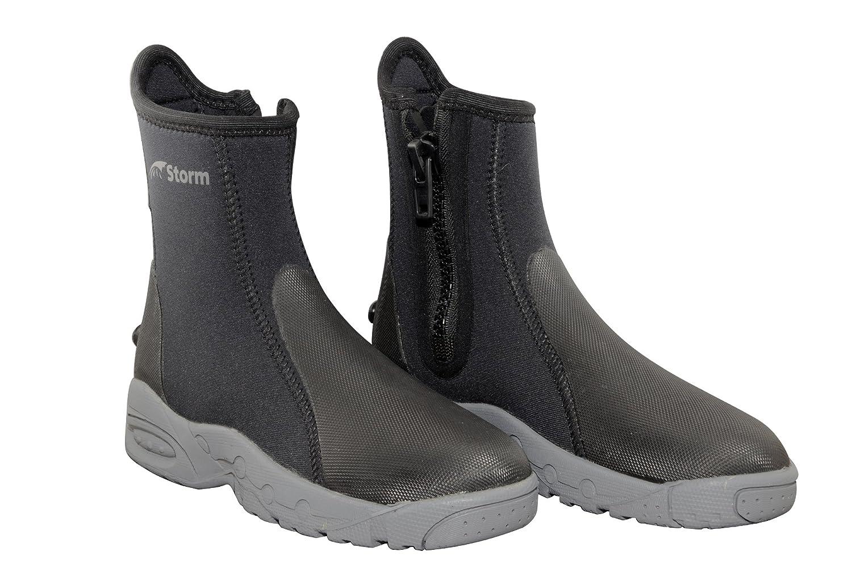 【売り切り御免!】 6.5 B06XP1XS8R MM Storm hydrostealthデラックスScuba Divers Boot B06XP1XS8R Boot ブラック MM Size 11, 北設楽郡:29518cef --- albertlynchs.com