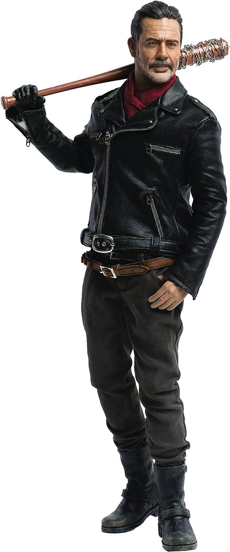 The Walking Dead Negan Jeffrey Dean Morgan Action Figure 1//6 Threezero Sideshow