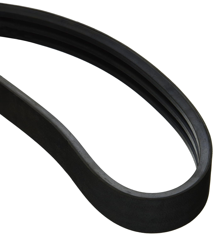 30 Length x 1.624 Width x 0.41 Height Banded//Cogged BESTORQ 4//3VX300 Rubber V-Belt Black