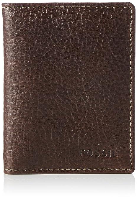 Fossil - Lincoln, Carteras Hombre, Braun (Brown), 0.6x10x7.6 cm(B x H T): Amazon.es: Zapatos y complementos