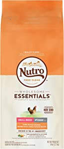 Nutro Wholesome Essentials Natural Adult Dry Dog Food for Small & Toy Breeds