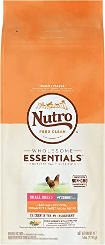 Nutro Wholesome Essentials Natural Adult Senior Small Bites Dry Dog Food