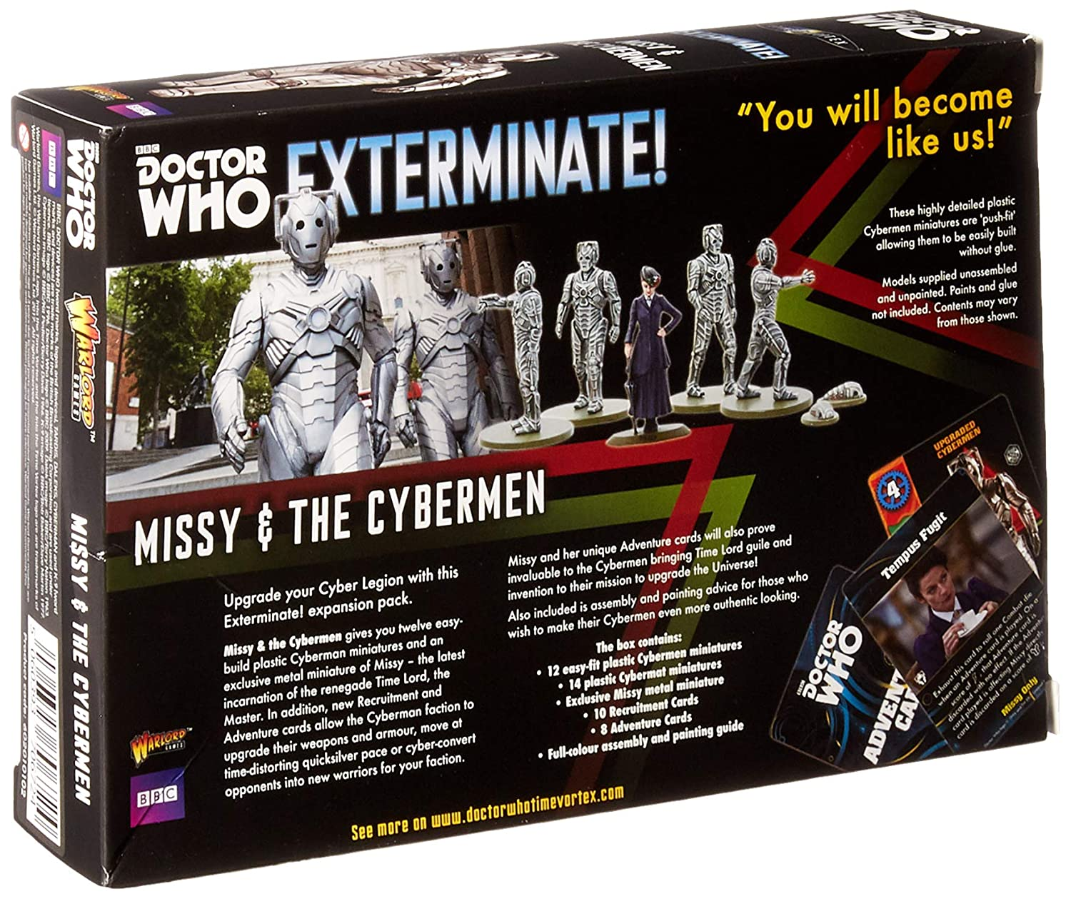 Amazon com: Doctor Who Cybermen & Missy Expansion Set for