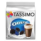 Tassimo Oreo Cocoa, Hot Chocolate, Cookie Flavour, 16 Discs (8 Cups), 0489