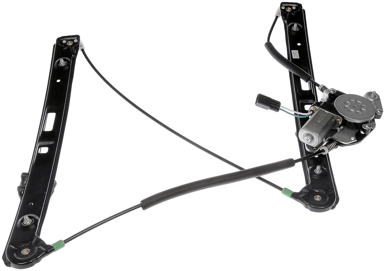 Dorman 741-485 Front Passenger Side Power Window Regulator and Motor Assembly for Select BMW Models