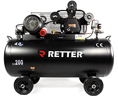 retter rt4200 Compresor 200L, ölgeschmiert Compresor De Aire 3 Cilindro