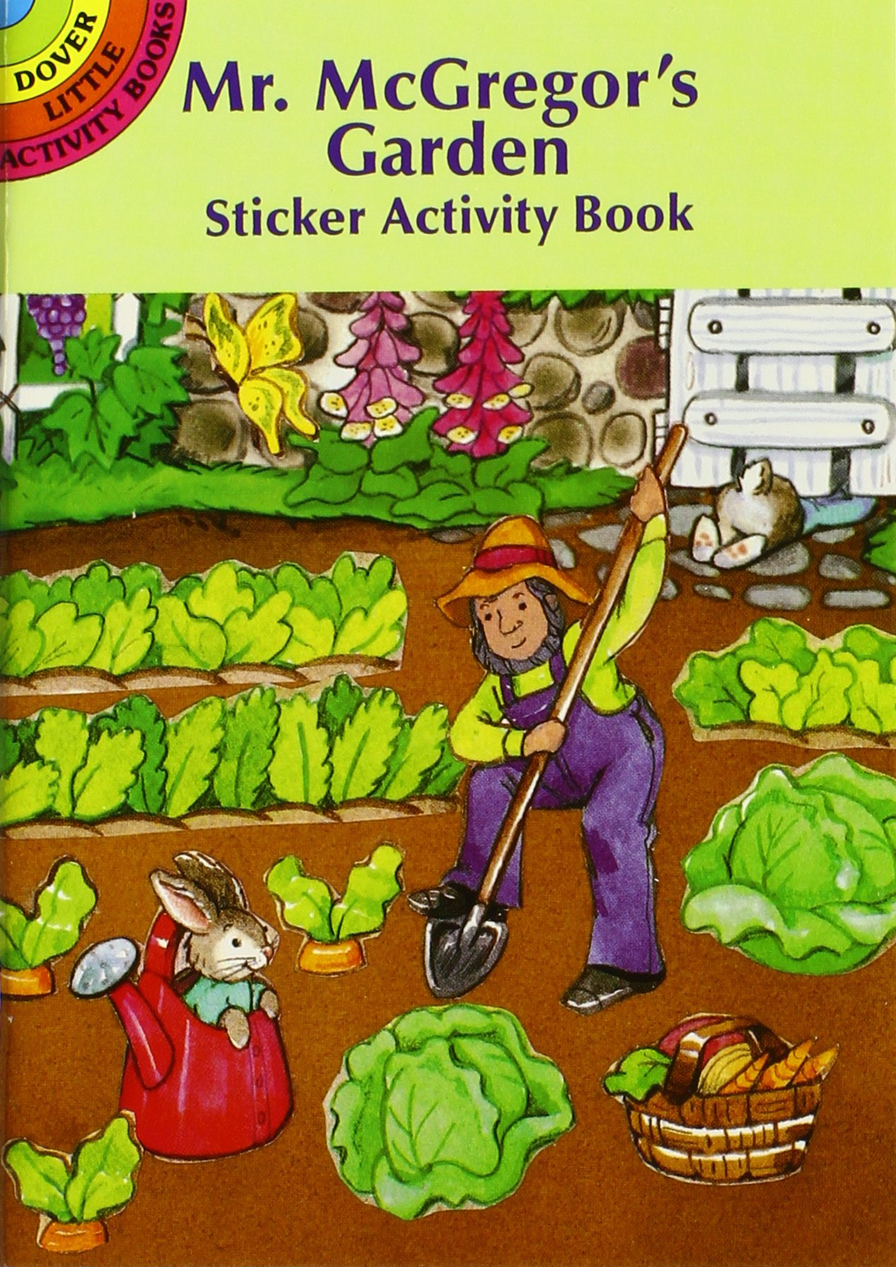 10 Easter Fun Books: Stickers, Stencils, Tattoos and More (Dover Little Activity Books) by Dover Publications (Image #8)