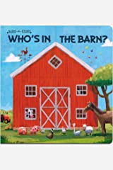 Slide-a-Story: Who's in the Barn? Board book
