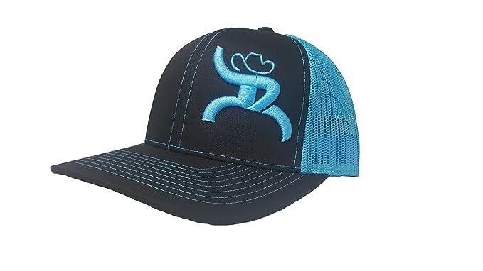 Richardson 3D Puff Hooey Roughy Hat Cap Snapback Adjustable Adult ... 1ee08a63768