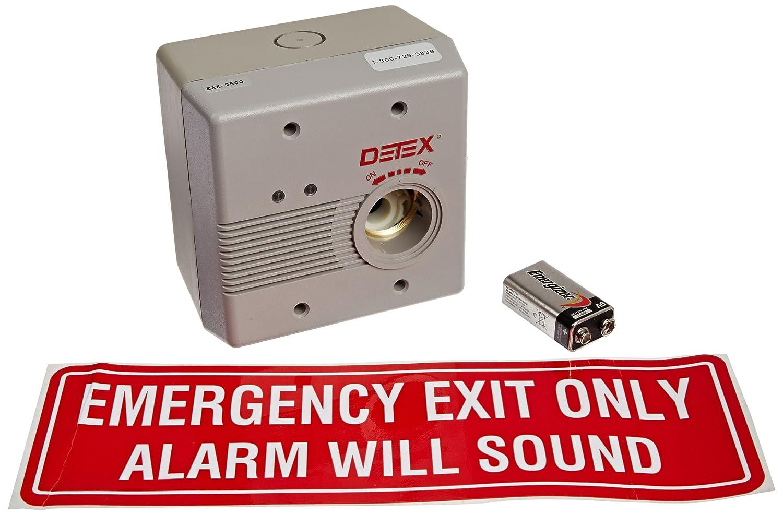Detex Door Alarms Amp Detex Eax 411sk Door Prop Alarm Quot Quot Sc Quot 1