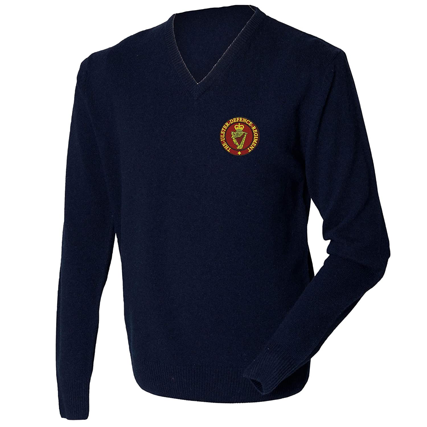 Ulster Defence Lambswool V-neck Jumper.