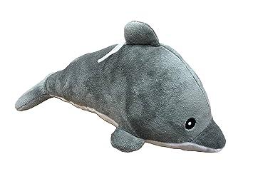 BARRADO Peluche Delfin Gris 26cm Calidad Super Soft