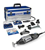 Dremel Platinum Edition 4000-6/128 Corded Multitool (175 W), 6 Attachments, 128 Accessories
