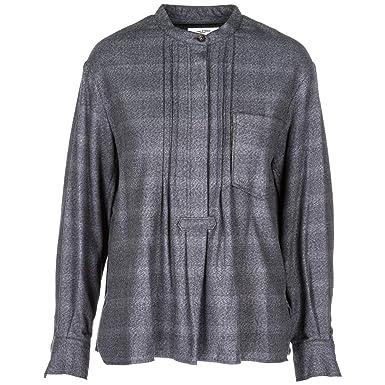 Amazon Com Isabel Marant Etoile Women Shirt Grigio Grey Clothing