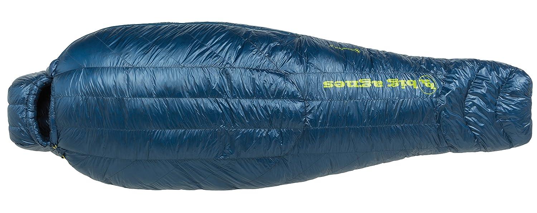 Big Agnes – Hitchens UL 20 Sleeping Bag with 850 Downtek塗りつぶし、レギュラー長、左ジッパー B01IOWORI6
