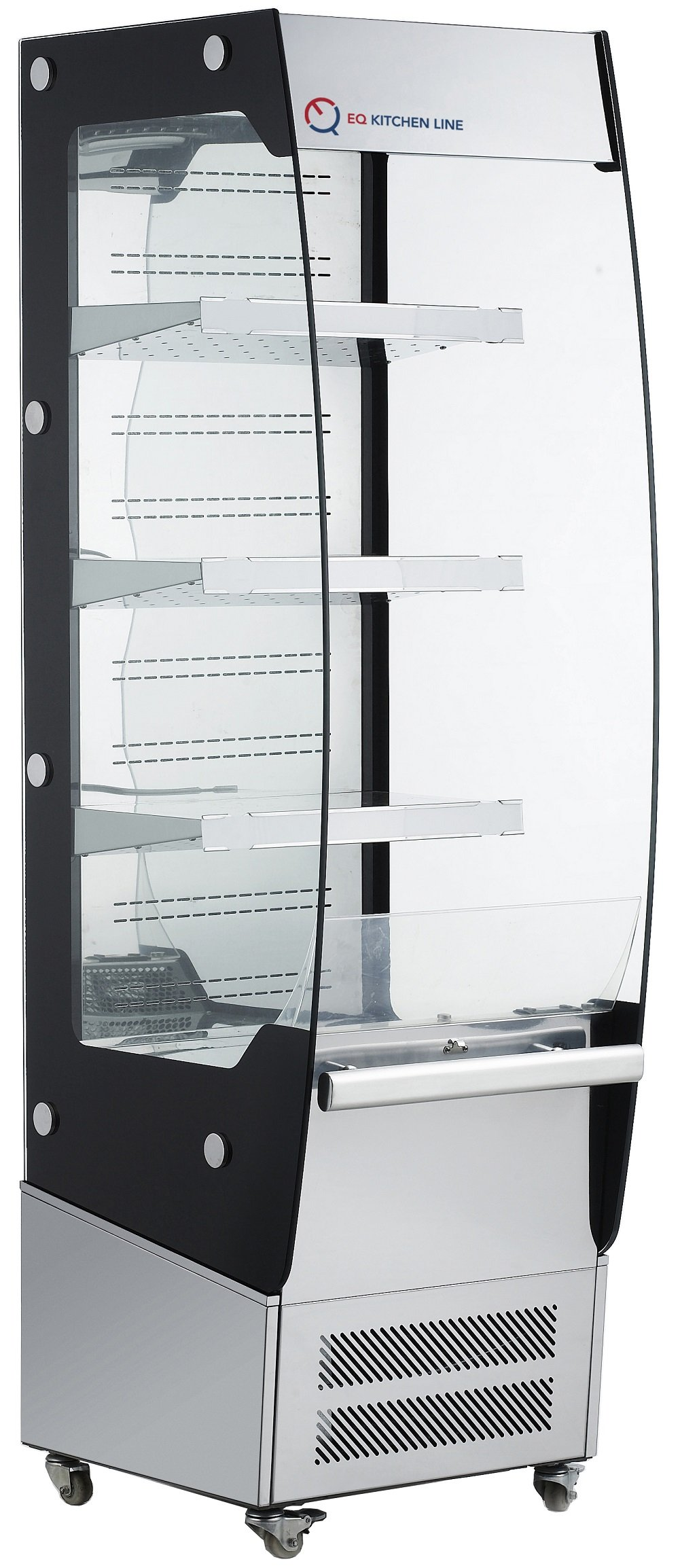 EQ Kitchen Line Commercial Heated Countertop Display Case Cabinet