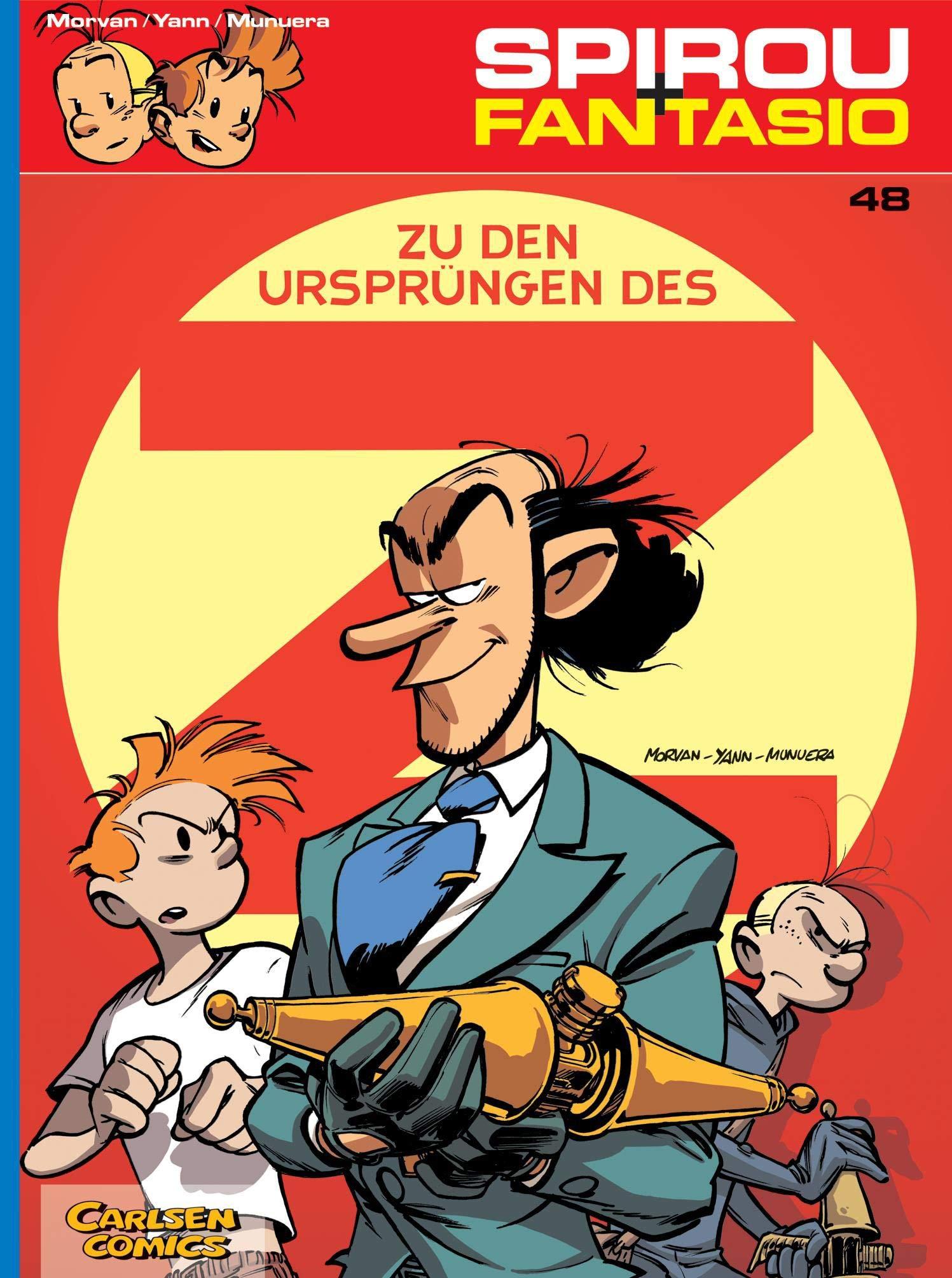 Spirou Und Fantasio 48  Zu Den Ursprüngen Des Z  48