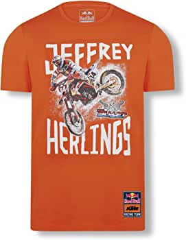 Red Bull KTM Jeffrey Herlings 84 T-Camisa, Rojo Hombres Small Camisa Manga Larga, KTM Racing Team Original Ropa & Accesorios: Amazon.es: Ropa y accesorios