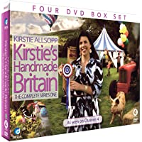 Kirstie Allsopp: Kirsties Handmade Britain The Complete Series One (4DVD CHOCBOX)
