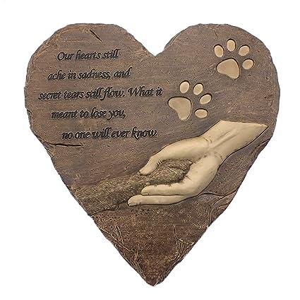 c216ea9b39689 Amazon.com   izery Dog Pet Memorial Stones