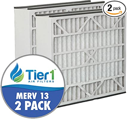 Tier1 20x25x5 Merv 8 Replacement for Armstrong Air Filter 2 Pack