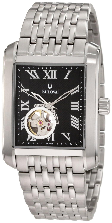 8f07bde8bdb2 Amazon.com  Bulova Men s 96A128 BVA-Series 160 Mechanical Watch  Bulova   Watches
